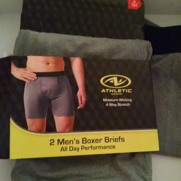4c8a42475b4282 Athletic Works Underwear & Socks | Mens Performance Boxer Briefs ...